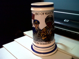 "UNITED STATES AND GERMANY ""END OF MISSION"" ""FRIEDEN IN EUROPA""  MUG/STEI... - $14.04"