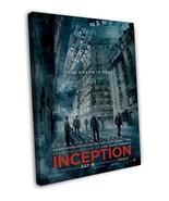 Inception leonardo dicaprio Movie Wall Decor 20x16 FRAMED CANVAS Print - $39.95