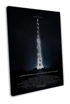 Interstellar 2014 Movie Art 20x16 FRAMED CANVAS Print Decor - $39.95