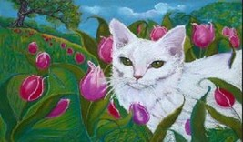 Cat Magnet #67 - $6.99