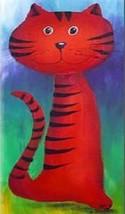 Cat Magnet #75 - $6.99