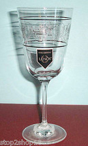 Lenox AUTUMN LEGACY Goblet Etched Crystal with Platinum Rings 12-oz. New - $19.90