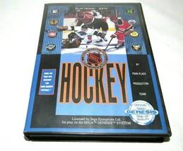 NHL Hockey (Sega Genesis, 1991)Complete in Box Game/Manual - $12.69