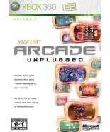 Xbox Live Arcade Unplugged [Xbox 360] - $5.66