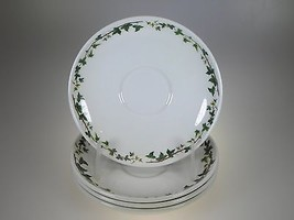 Portmeirion The Holly & The Ivy Traditional Tea Saucers set of 4  - $30.81