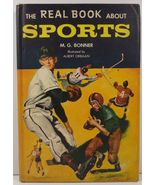 The Real Book About Sports by M. G. Bonner 1958 HC/DJ - $7.99