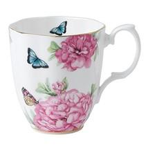 Royal Albert Friendship Vintage Mug Designed by Miranda Kerr, 13.5-Ounce, White