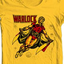 Adam Warlock T-shirt Bronze Age comic book Free Shipping distressed 100% cotton image 1