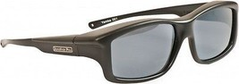 Fitovers Eyewear - Yamba - Satin Black/polarized Grey - Fits Over X-Large - $56.06