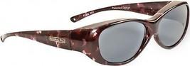 Fitovers Eyewear - Kiata Purple Rain (Polarvue Gray) Designed to be Worn Over - $56.06