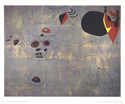 Joan Miro-The Bullfight-1974 Poster - $22.44