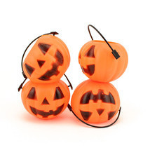 Small Mini Plastic Jack O Lantern Pumpkin Halloween Party Favor Candy Bu... - £5.20 GBP+