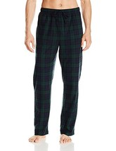 Nautica Sleepwear Tartan Plaid Cozy Fleece Pant, Sz. Medium - $21.78