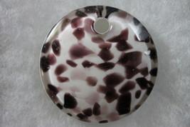 Murano Glass Round Concave Pendant - $19.99
