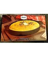 Parini Ceramic Cookware For The Grill Casserole Pan W' HANDLES NON STICK... - $34.64