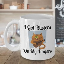 Funny Guitar Blisters 11oz Mug Novelty Ceramic Coffe Tea Cup Cool Ideal Fun Gift - $12.82