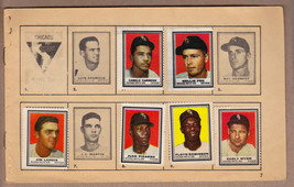 LOT OF 6: 1962 Topps stamps, White Sox on album page Early Wynn Nellie Fox - $7.95