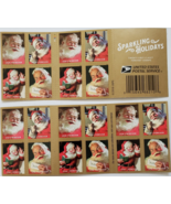 Sparkling Holidays 1st Class (USPS) 2018  FOREVER Stamps 20 - $15.95