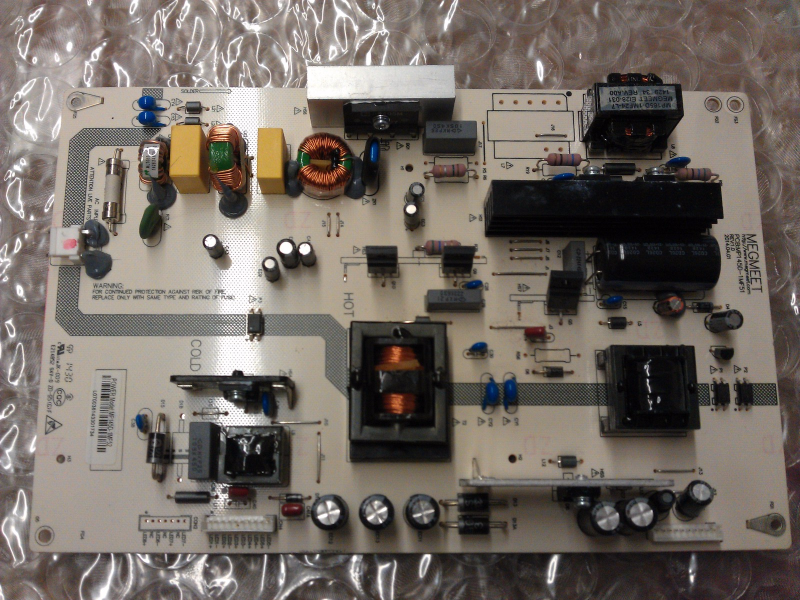 850108892 MP145D-1MF52 Power Supply Board From  Hitachi LE49S508 LCD TV