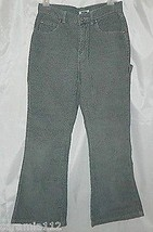 Old Navy Girl's Corduroy Jeans Gray Fine Wale Flare Pants size 14 - $11.85