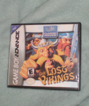 Lost Vikings Gameboy Advance game in custom case - $14.99