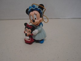 Minnie Mouse Mrs. Cratchit A Christmas Carol Ornament Disney Avon  - $13.99