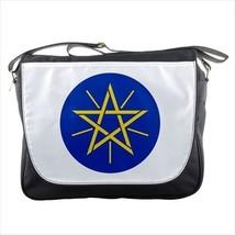 Ethiopia Emblem Messenger Bag - Tabard Surcoat - $36.27