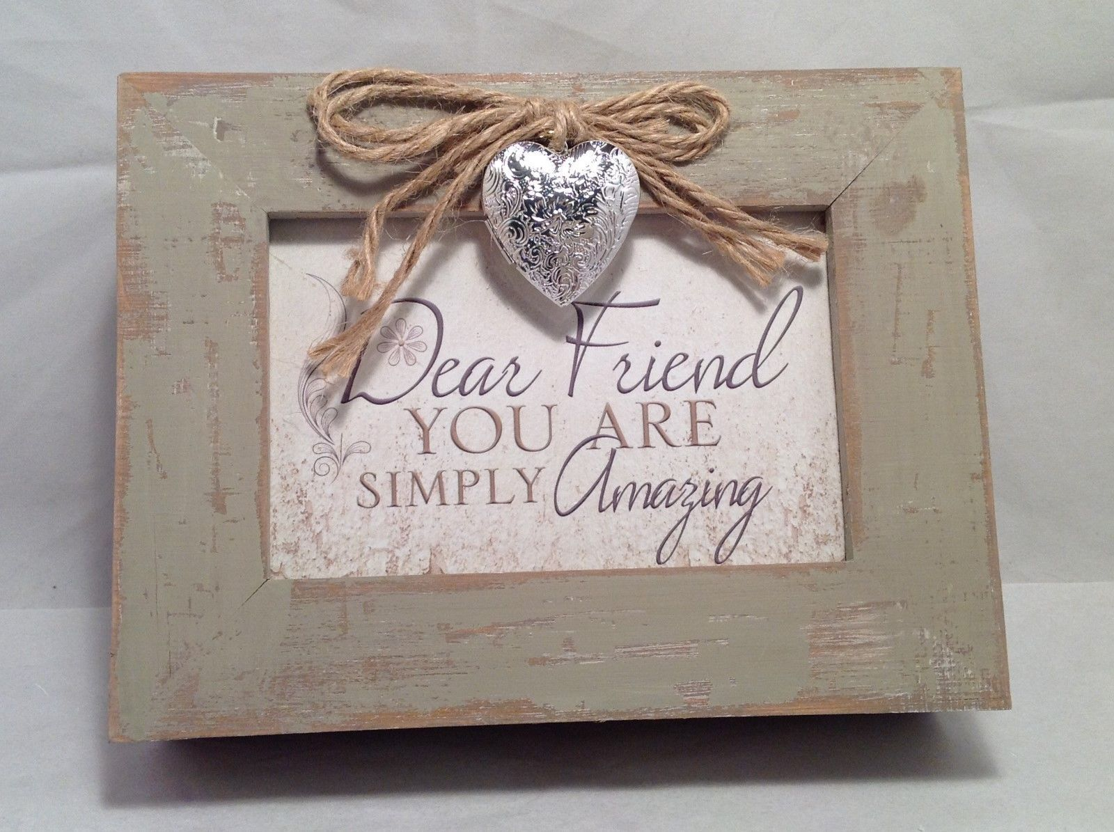 Adorable Rustic Looking Wind Up Musical Jewelry Box