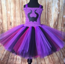 Descendants Tutu Dress, Mal Tutu, Descendants Costume, Girls Mal Tutu - $40.00+
