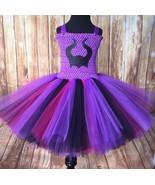 Descendants Tutu Dress, Mal Tutu, Descendants Costume, Girls Mal Tutu - $40.00+