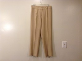 Ladies Jones New York Light Tan Beige Pants Sz 6