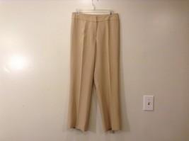Ladies Jones New York Light Tan Beige Pants Sz 6 image 1