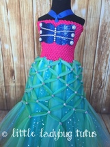 Mermaid Tutu, Mermaid Tutu Dress, Ariel Tutu, Ariel Tutu Dress, Mermaid Birthday - $55.00+