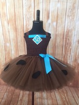 Scooby Doo Tutu Dress, Scooby Doo Costume, Scooby Doo Party Dress - $40.00+