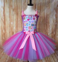 Shopkins Tutu Dress, Shopkins Tutu, Shopkins Birthday Dress, Girl Shopkins Dress - $40.00+