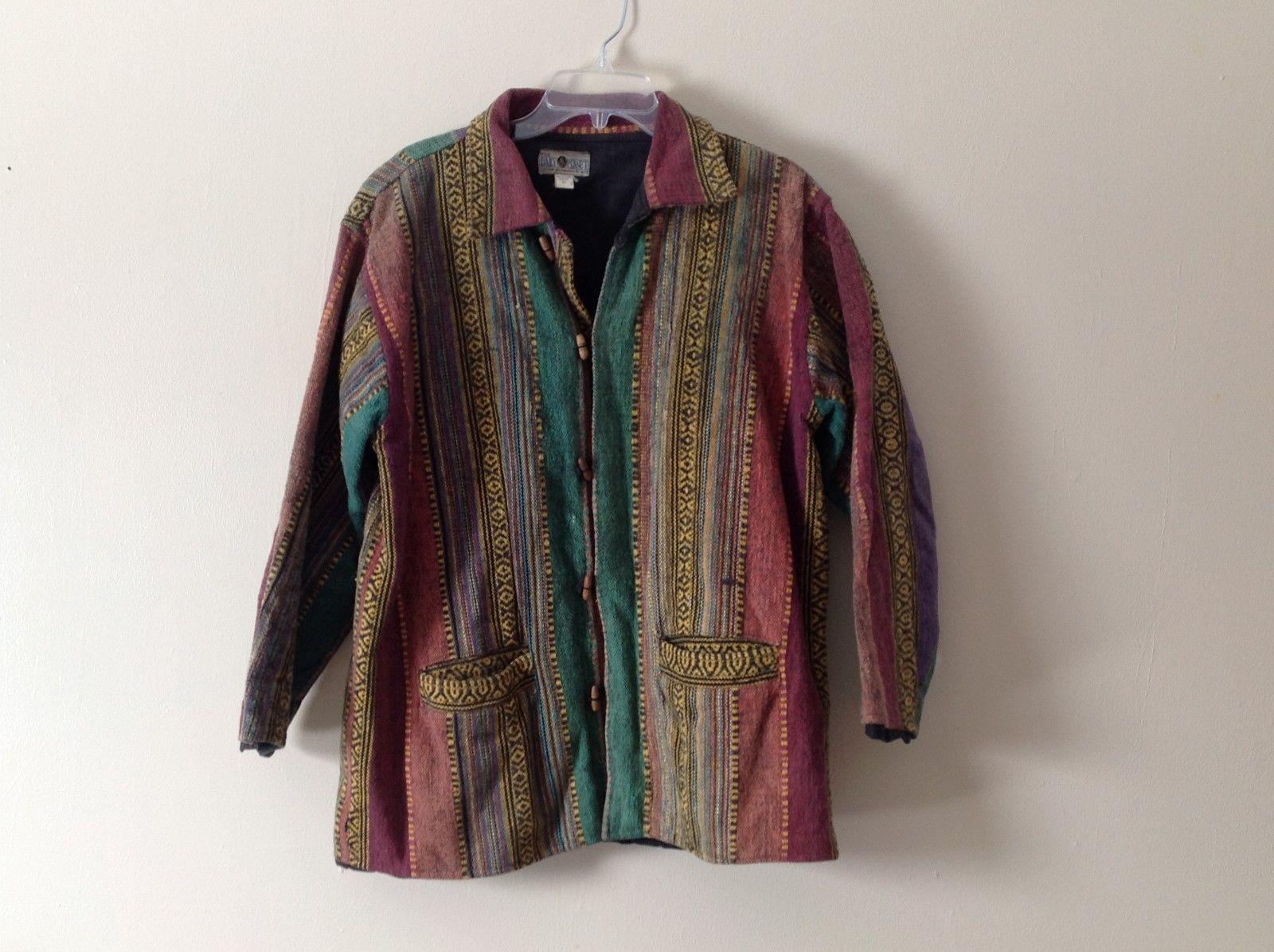 The Daily Planet Tweed Corduroy Jacket Blazer Sz M