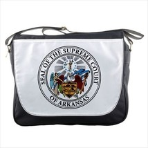 Seal of Arkansas United States Messenger Bag - Tabard Surcoat - $36.27