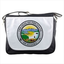 Seal of Alaska United States Messenger Bag - Tabard Surcoat - $36.27