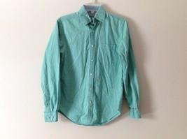 Mens CTF Mint Green Tailored Collared Dress Shirt Sz 38 - $39.59