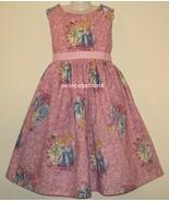 NEW Handmade Disney Princesses Cinderella/Tiana/Rapunzel Dress Custom 12... - $59.98
