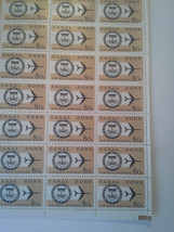 A mint Block of Canal Zone Air Mail 80 c postage stamps  Scott C47  orig... - $90.00