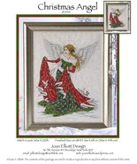 CLEARANCE Christmas Angel JE040 cross stitch ch... - $10.50