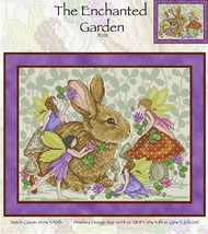 CLEARANCE The Enchanted Garden JE128 cross stitch chart Joan Elliott Designs - $10.50