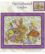 CLEARANCE The Enchanted Garden JE128 cross stitch chart Joan Elliott Des... - $10.50