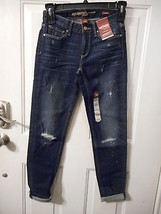Women's Juniors Arizona Night fall Boyfriend Jeans Size 7 NEW  - $29.69