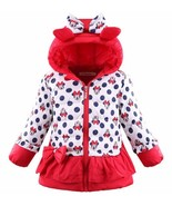 Minnie Mouse Jackets Winter Polka Dots Coats for Toddler Girls 2T,3T,4T,5T - $34.99