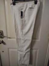 Women's Liz Claiborne Pants Audra Size 14 Crema  NEW - $29.69