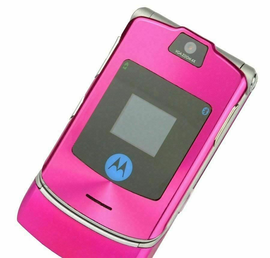 Primary image for ORIGINAL Motorola RAZR V3i Luxury Pink 100% UNLOCKED Mobile Cell Phone WARRANTY