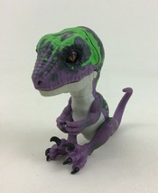 Fingerlings Untamed Razor Raptor Purple Dinosaur Interactive Toy WowWee - $14.80
