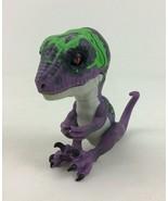 Fingerlings Untamed Razor Raptor Purple Dinosaur Interactive Toy WowWee - $13.32